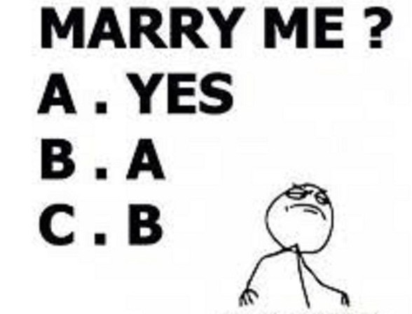 will you marry dick today fm